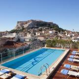 Acropolis view Roof top Swimming pool