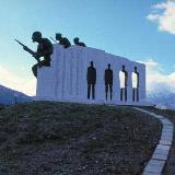 A monument of National Resistance at Karakolithos