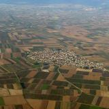 Aerial photo of Ammoudia at Sindiki, Serres