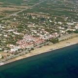 Aerial photo of Touzla, Kavala