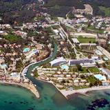 Aerial photo of Kerkyra island