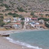 Agios Andreas, view of the settlement and the beach