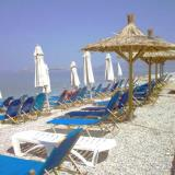 Agistri, Laza beach at the port has been touristically developed