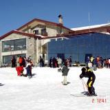 The central building of the ski centre