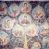Eratira, mural of the church of St. Nikolaos (18th cent.)