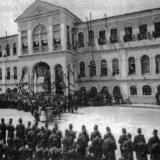 Ioannina, celebration at the headquarters of Ioannina during the Otthoman occupation (Rizarion Ιnstitute archives)