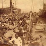 Kalamaria, arrival of the 1922 refugees