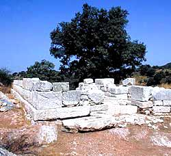 Ancient Figalia, finds of the archaeological site FIGALIA (Ancient city) ILIA