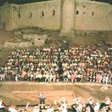 Chlemoutsi Castle, a music concert at the feet of the hill