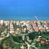 Perea, the town is situated in the central gulf of Thermaikos gulf