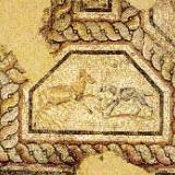 Filippi, a mosaic from the baths of Filippi (3rd cent. A.D.)