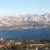A panoramic view of Paleros bay