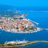 A panoramic view of Lefkada capital town