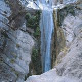 Dimossari waterfall