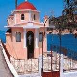 Meganissi, a little church on the island