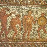 Patra, a mosaic of the Roman Era, when the town flourished