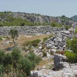 Samikon, the archaeological site (the wall)