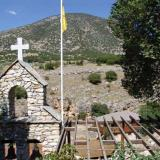 Petroussa, the country church of Agia Triada