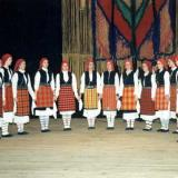 Petroussa, folk dance with girls (Bambo's Day)
