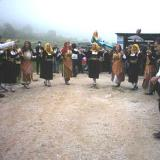 Mikropoli, celebration with folk dance on God's Day