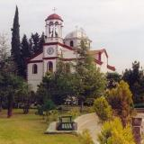 Psychiko, the church of the village