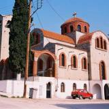 Monovryssi, the church of the Virgin Mary