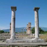 The Agora (forum) was the administrative centre of the town during the Roman era
