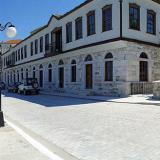 Limenas, buildings of traditional architecture in the old port