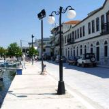 Limenas, the old port has a traditional atmosphere