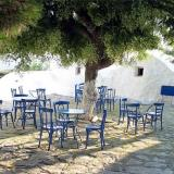 Amorgos; in the capital town one can see lots of small squares
