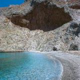 Amorgos beaches; an impressive landscape geomorphology