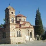 Acropolis of Serres, the Byzantine church of St. Nicolas, near which stood the tower of the Acropolis, was repaired and restored in 1937