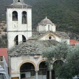 Monastery of Timios Prodromos - a severe blow was the looting of the library in 1917 by the Bulgarians; most of its treasure remains in Sofia