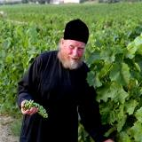 Agios Pavlos, a monk at the vineyards
