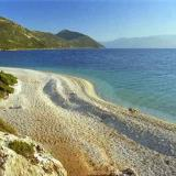 Agios Ioannis, the sandy beach