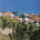 Nafpaktos - a view of the town from the castle