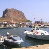 Monemvasia bay