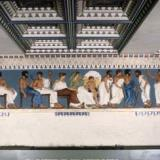 Acropolis, Parthenon, East Frieze: Reconstruction of Parthenon, East Frieze