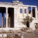 Acropolis, Erechtheion: View from W