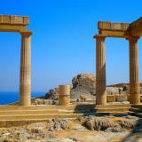Ancient Temple of Acropolis of Lindos