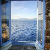 House Window in Hydra