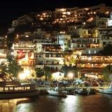 Agia Galini by night