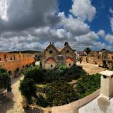 Arkadi Monastery. East view of the Katholikon: The Bema apses