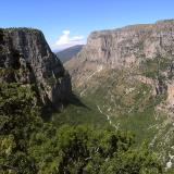 View of Vikos Gorge from Beloi