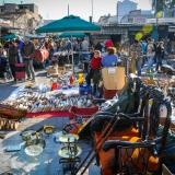The flea market