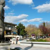 Statue of Asclepius in Trikala