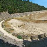 Acropolis of Rhodes: the ancient stadium