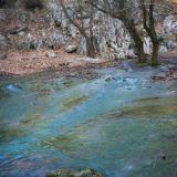 The spring waters of river Aroanios, Planitero