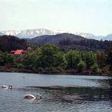 General view of Agia Lake