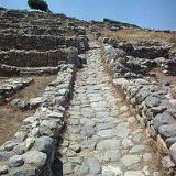 A street in the Minoan site of Gournia